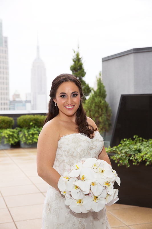 Lotte NY Palace wedding makeup by Anabelle LaGuardia