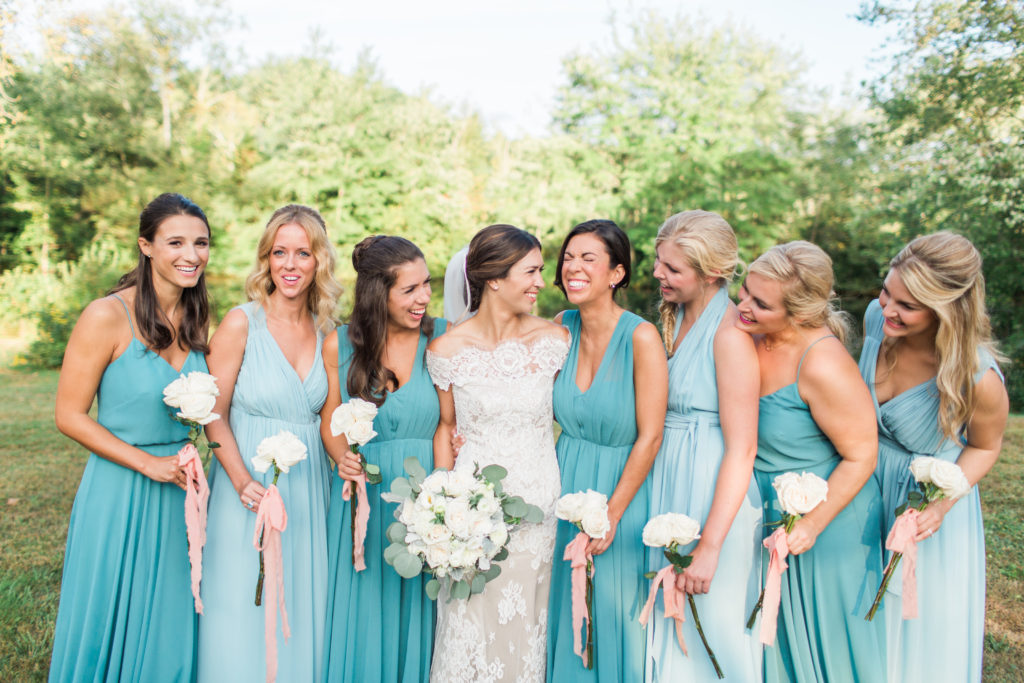 bridal party wedding makeup by anabelle laguardia