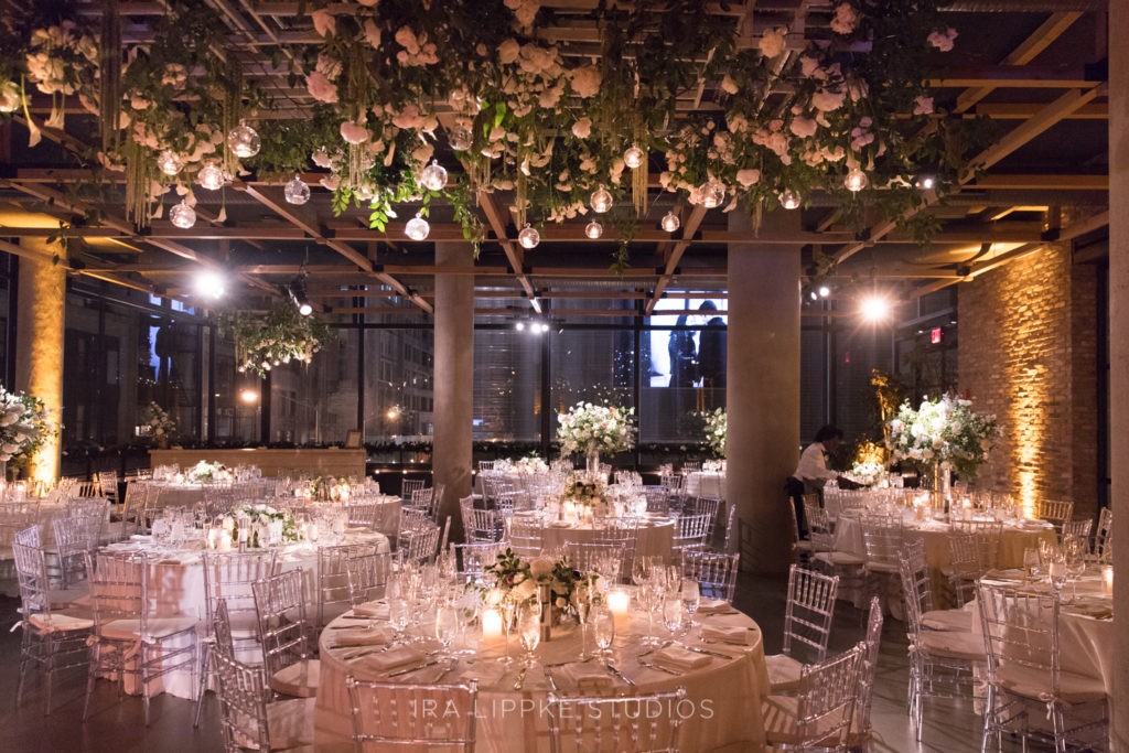 The Vine wedding reception